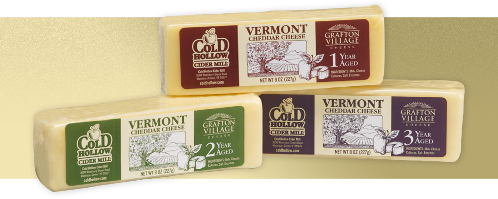 Cold Hollow Aged Cheddar Cheese Labels | Cold Hollow Cider